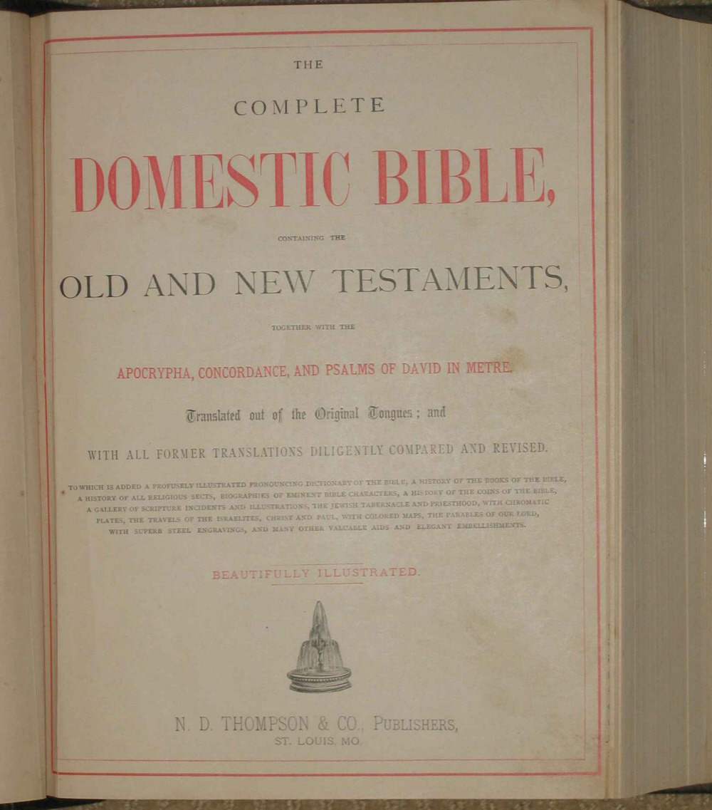 Bentley Bible