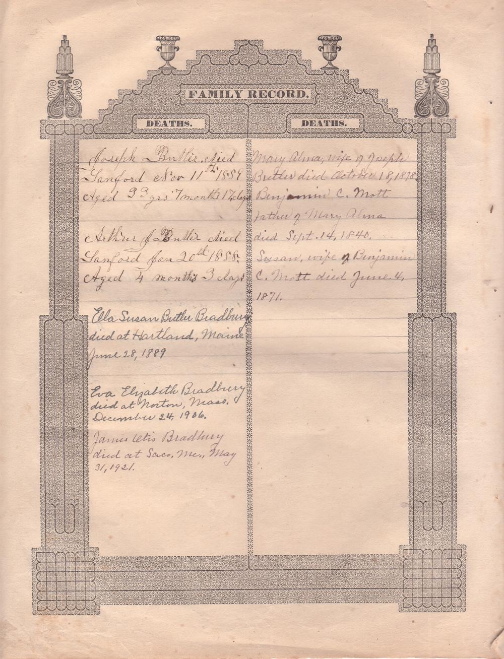 Butler Bible