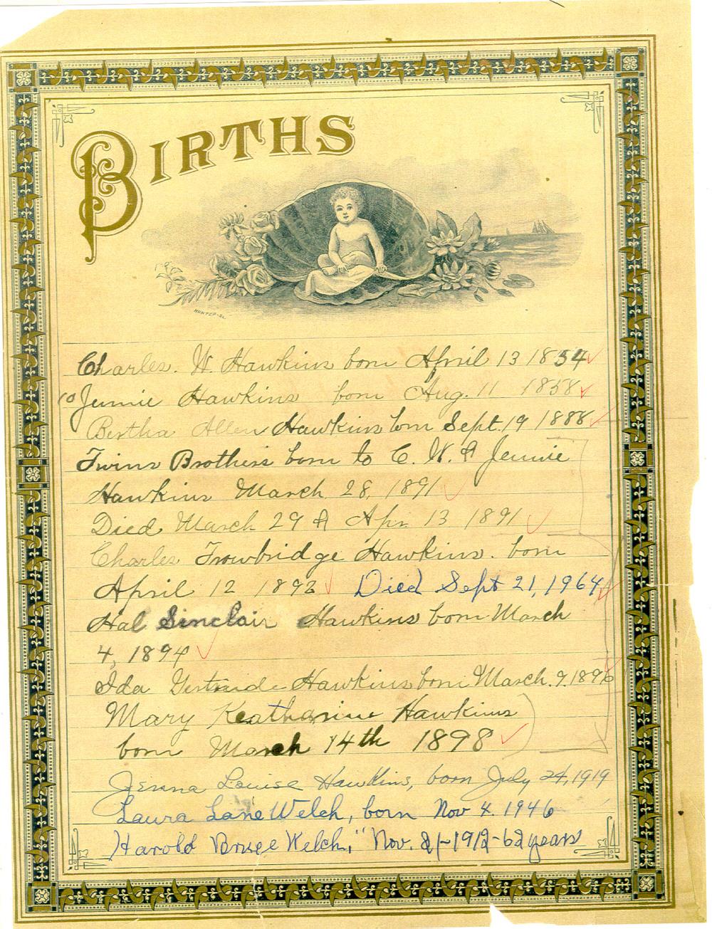 Hawkins Bible