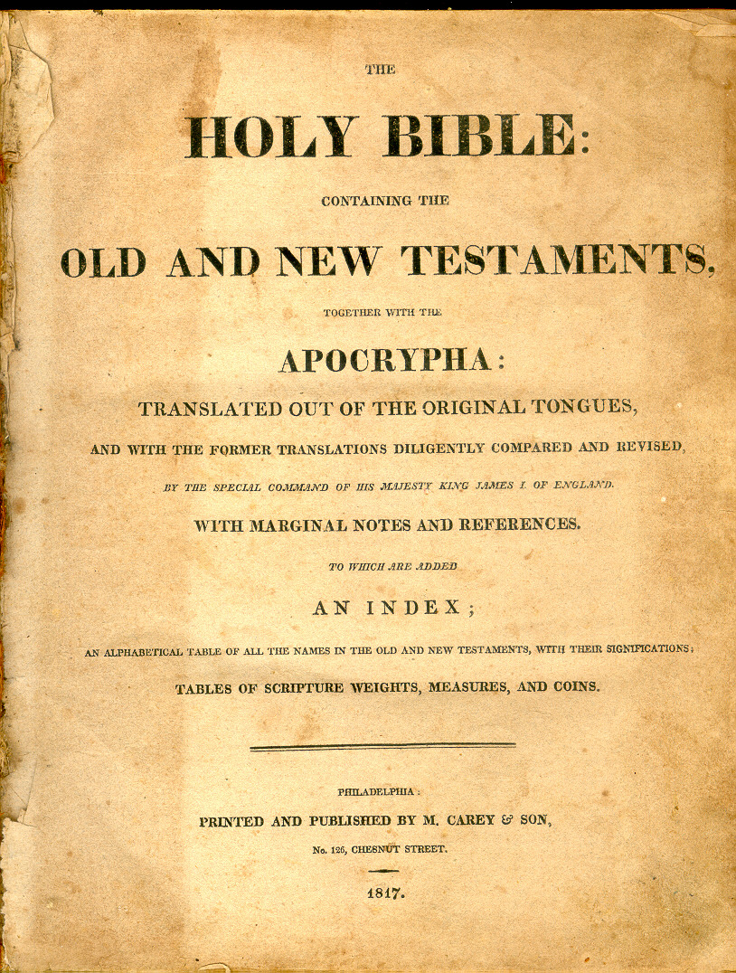 perry bible